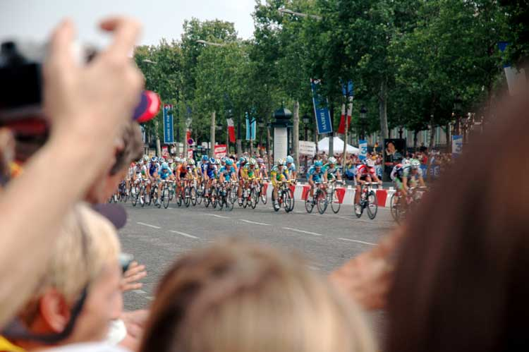Tour de France in paris