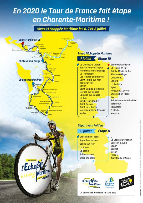 Tour De France Schedule 2020.Tour De France 2020 Route Stage By Stage Guide