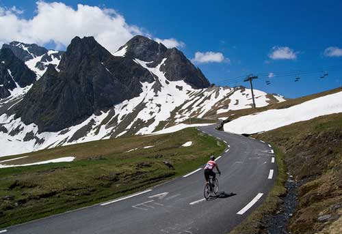 Cycling the Tourmalet in May