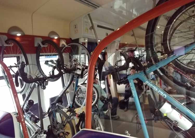 Meuse River cycling train