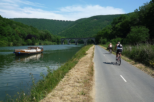 Cycling the trans ardennes bike path freewheeling france - Plateforme meuse champagne ardenne ...