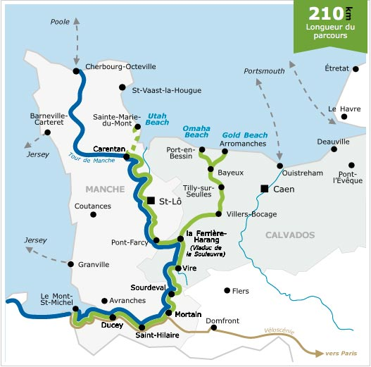 D-Day Beaches to Mont St Michel velo