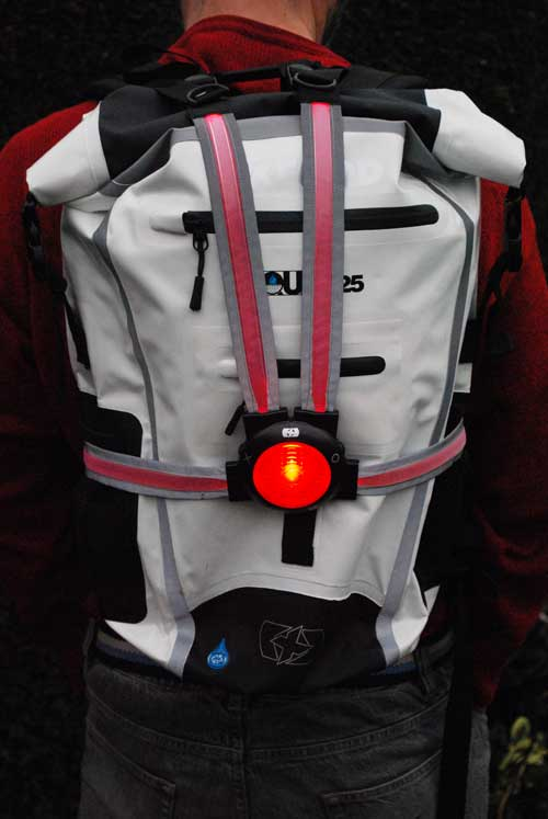 Oxford Pro Commuter X4 on rucksack