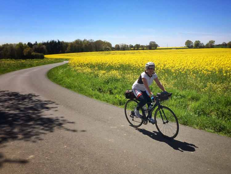 The Loir bike route