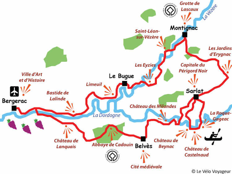 The best of the Dordogne by bike