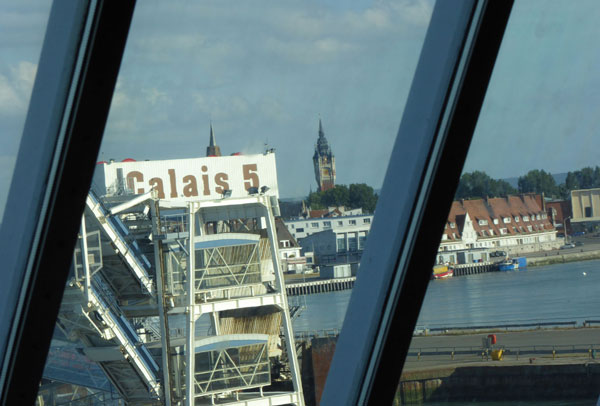 Taking a bike on the Dover to Calais ferry - Freewheeling France
