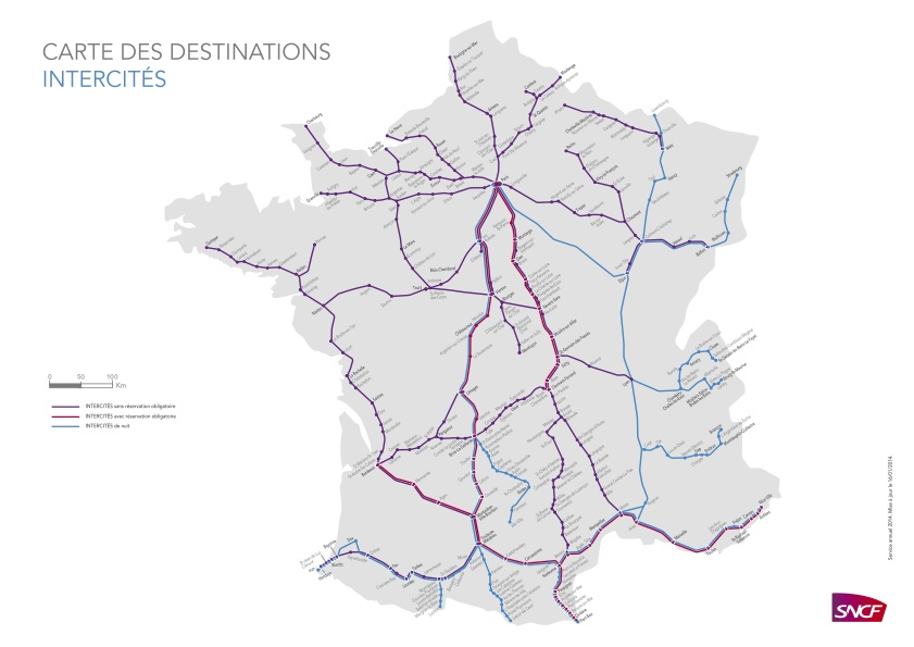 Map Of Trains In France.Taking Bikes On French Trains A Guide For Cyclists Freewheeling