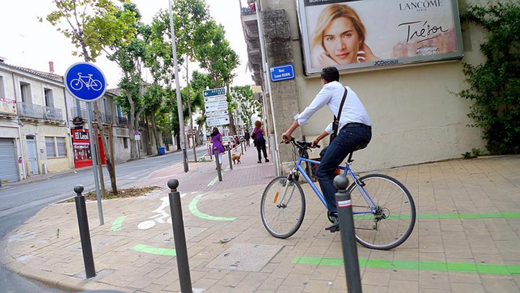 Cycling in Montpellier