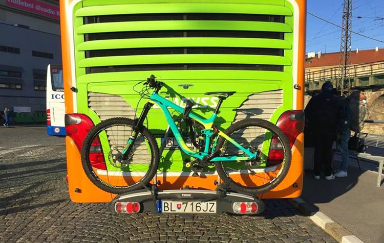 Flixbus bicycles