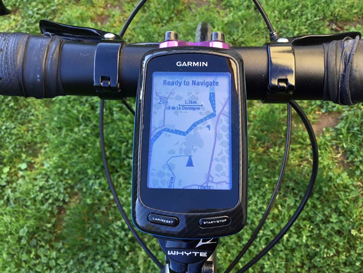 Cycling with a GPS - Freewheeling France
