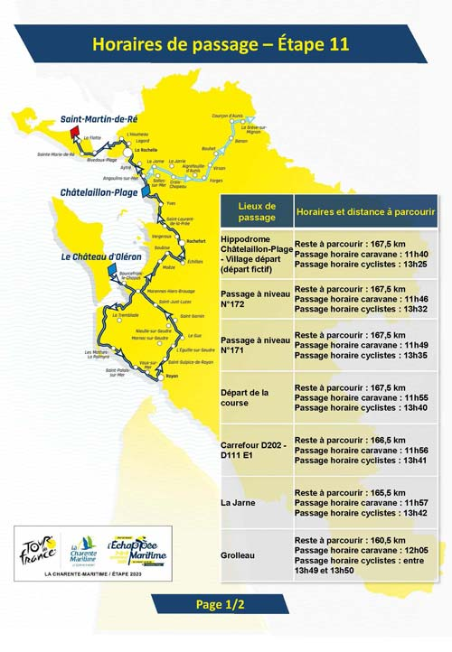 Tour De France 2020 Route Stage By Stage Guide Freewheeling France