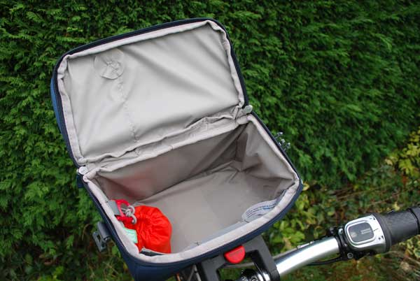 Inside Vaude Road I Handlebar bag