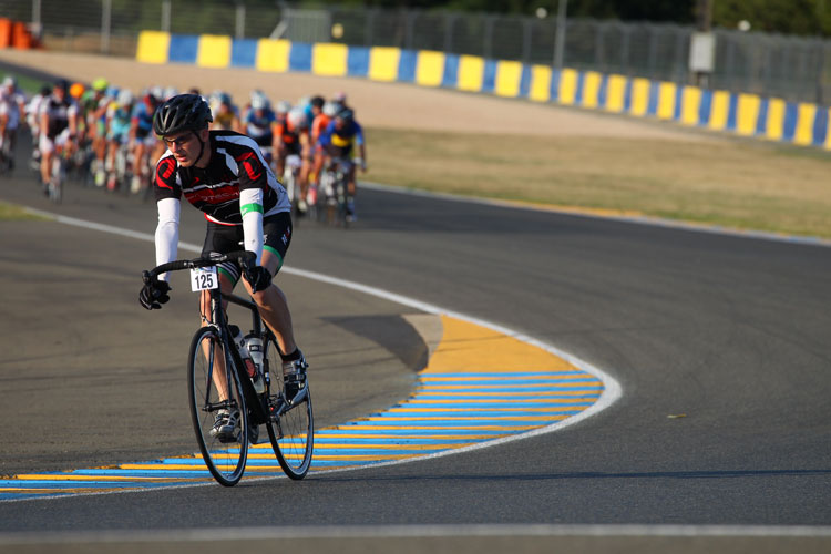 Neil Moss at the Le Mans sportive