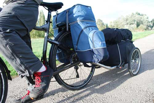 Vaude karakorum panniers installed