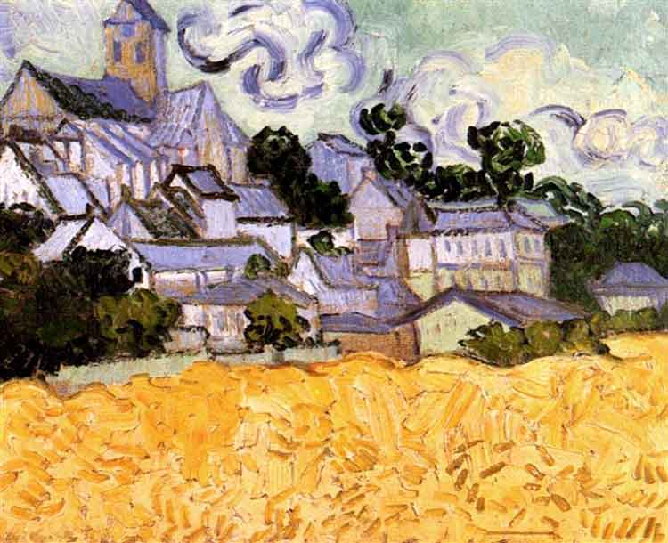 Van Gogh - Auvers with church